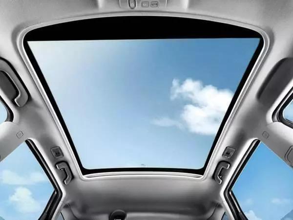 原来有天窗和没天窗存在这么大的区别