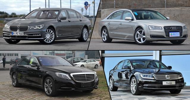 四款豪华大型车推荐 顶尖技术与科技的比拼
