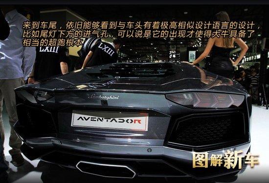[图解新车]兰博基尼Aventador超跑登场