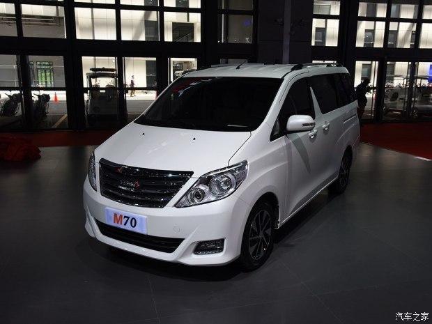 野马汽车出新产品规划 M70/T60/新款T70