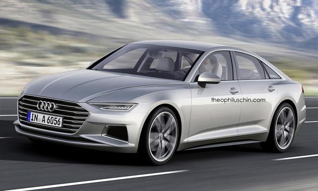 全新奥迪A6最新效果图曝光-德系垂直换代中高级新车前瞻 豪华新标杆高清图片