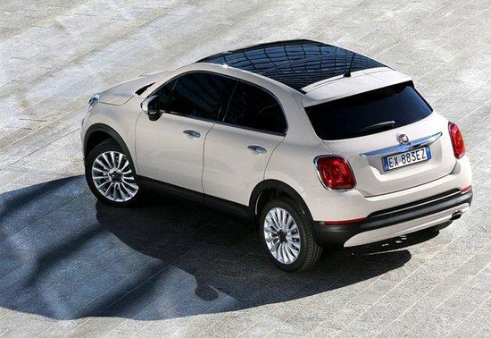 菲亚特500X将于广州车展国内首发亮相