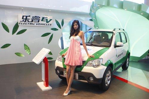 将环保进行到底 众泰全系车型亮相车展