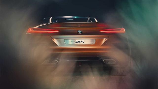 最美跑车行将归来 宝马全新Z4观点车官图