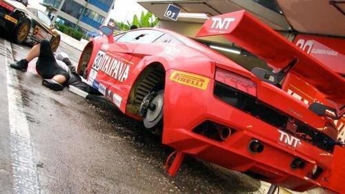 580马力定制赛车 兰博基尼盖拉多改装版 高清图片