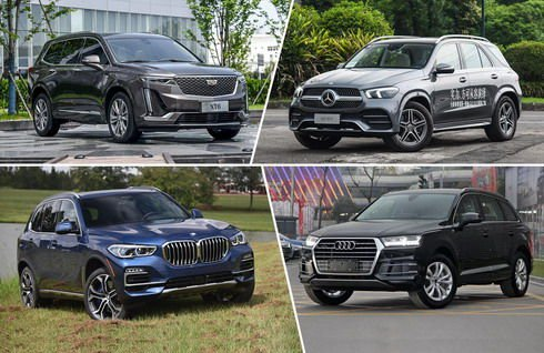 美系新贵VS德系三强 四款中大型SUV你中意谁?