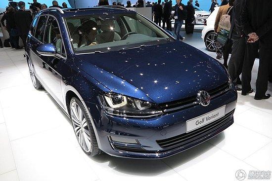 [新车解析]高尔夫7旅行版亮相日内瓦车展