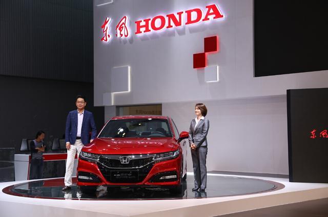 东风Honda携全新思铂睿和XR-V闪耀广州车展
