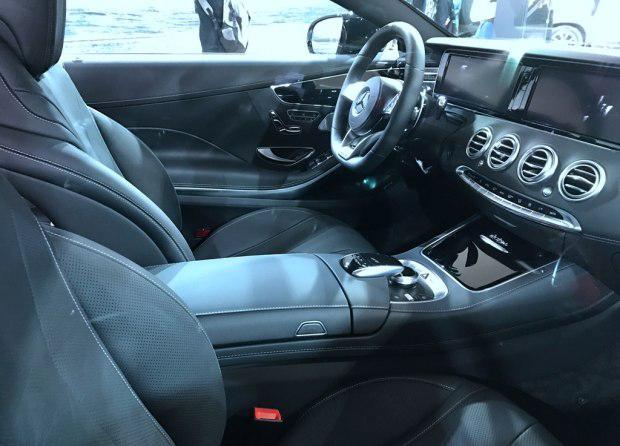 奔驰S级Coupe特别版2017上海车展亮相