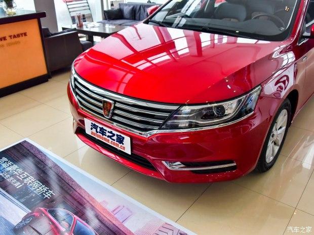 荣威(微博)旗下基本紧凑型车——荣威i6的实车,新车目前polo2004款自动最新版图片