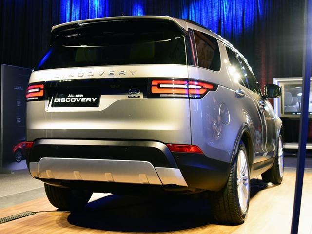 路虎全新发现明年3月上市 新平台/全铝车身
