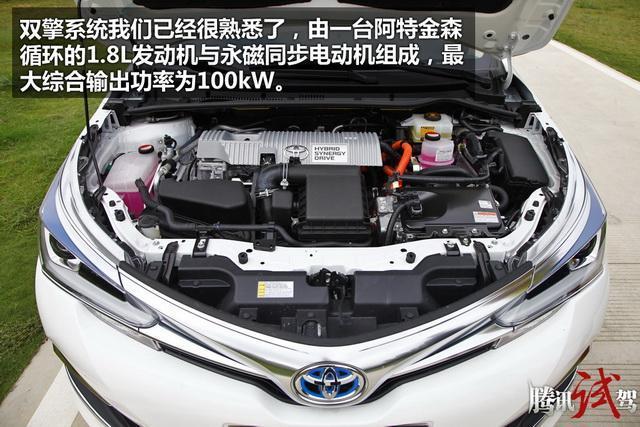 卡罗拉双擎购车手册 推荐1.8L CVT精英版