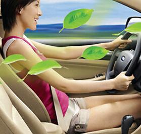 买车后关注车内健康