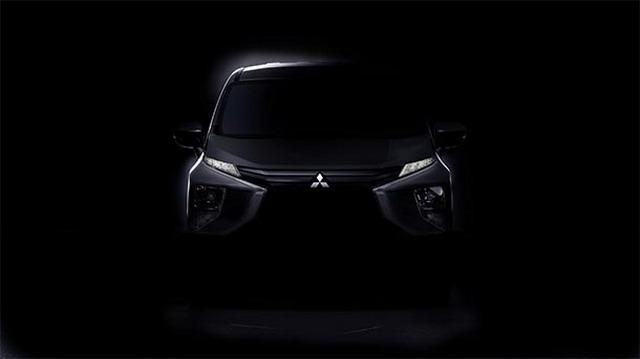造型贴合观点车 三菱全新MPV谍照曝光
