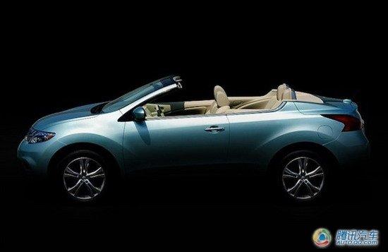 敞篷软顶SUV 日产Murano cabrio官图曝光