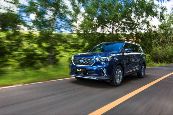 不止7座的中大型SUV 欧尚COS1°将于9月10日上市