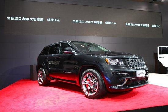jeep的参展车型均为今年内推出的垂直换代后的全新原装进口产高清图片