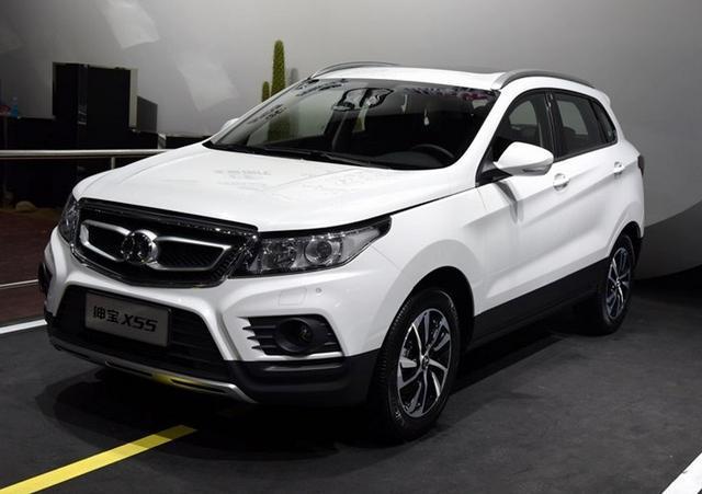 绅宝X55紧凑SUV下月10日上市 或9万元起售