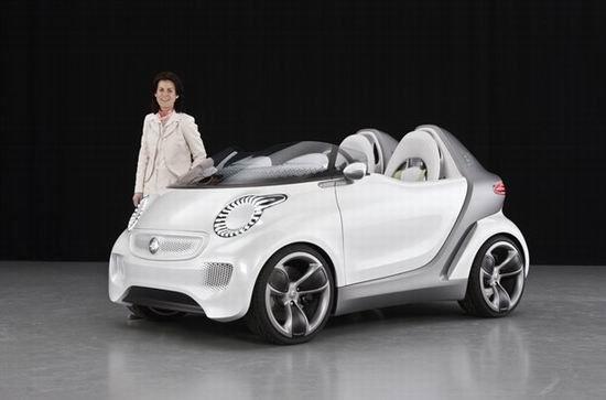 日内瓦首发 Smart推Forspeed敞篷概念车