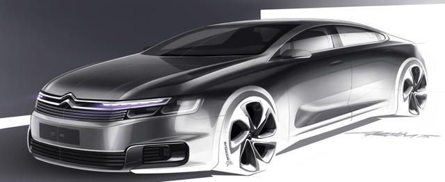雪铁龙全新国产C6北京车展首发 下半年上市