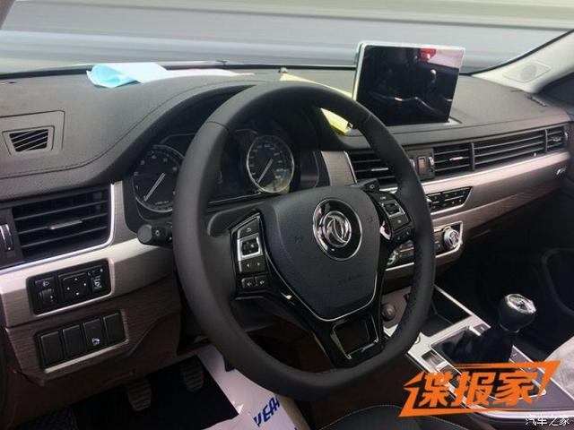 定位7座中型SUV 东风景逸X7谍照曝光