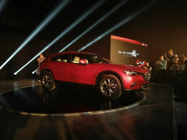 马自达CX-4首发亮相 预计将于年中上市