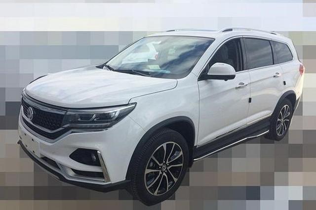 东风风行新7座SUV谍照曝光 或为景逸X7