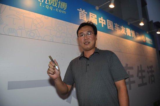 武卫强:微博节为草根博友提供了展示机会
