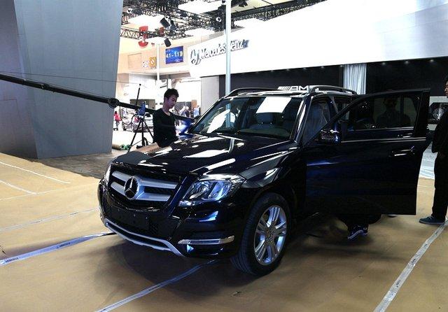 售价39.8万 北京奔驰GLK260于广州车展上市