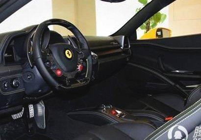 法拉利458提车作业
