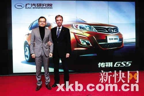 访传祺设计师:传祺GS5是欧陆风格中国元素