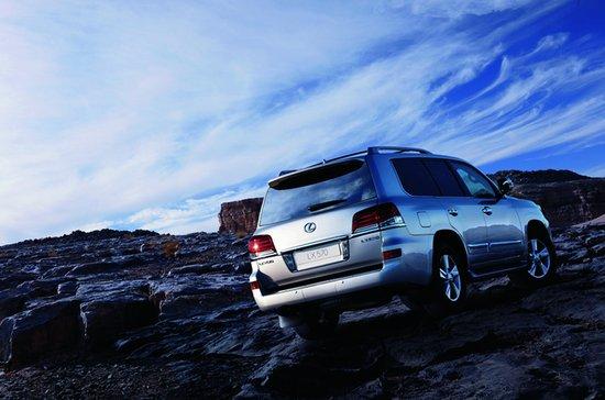雷克萨斯新款LX570上市 售价173.3万元