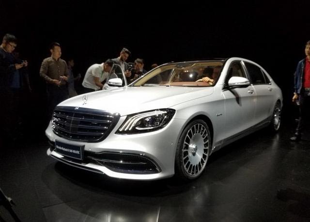 奔驰新款S级新车型上市 185.8万起售