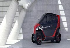 CT研发折叠式底盘节省停车空间 新自动驾驶电动车续航将达200公里