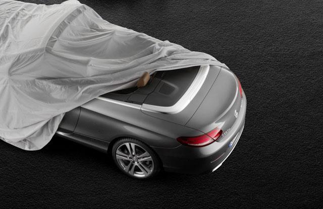 奔驰全新C级敞篷车实车 即将发布
