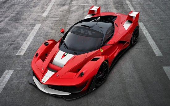法拉利 laferrari 终极限量版 汽车 腾讯网 高清图片