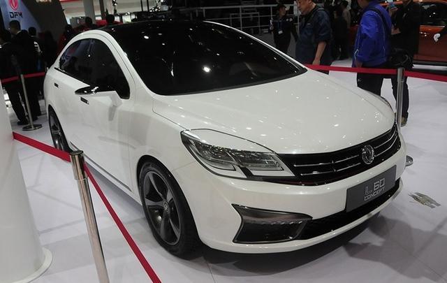 东风风神L60谍照曝光 定位高端紧凑级轿车