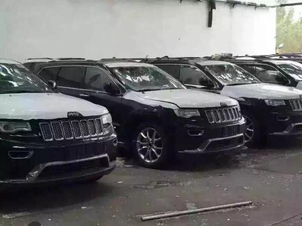 传言竟是真!Jeep天津港受损车正流入市场