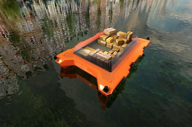 荷兰将于明年在运河上测试自动驾驶船舶