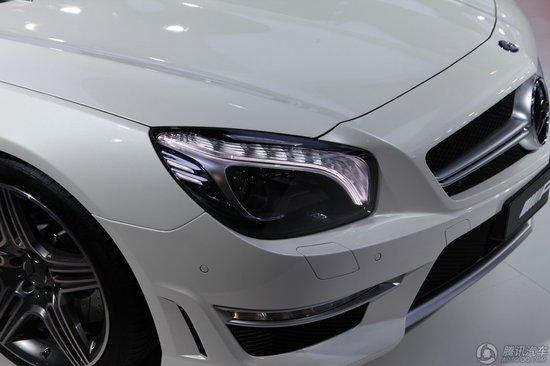 2013款奔驰SL63 AMG车展上市 售价239.8万