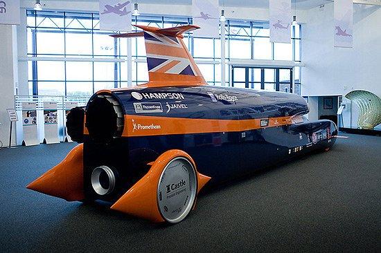 超音速汽車再出發 搭載勞斯萊斯航空發動機