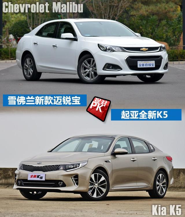 新迈锐宝pk全新K5 20万拿下1.6T合资中级车
