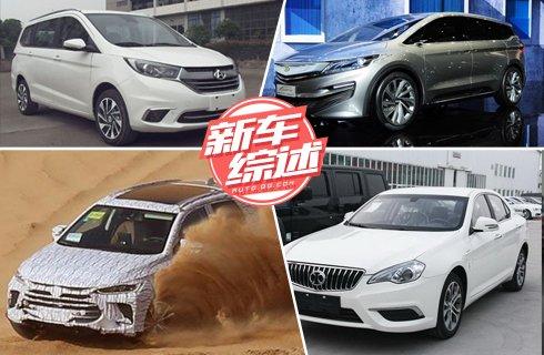 多款自主品牌新车谍照曝光 众泰T800揽胜之颜