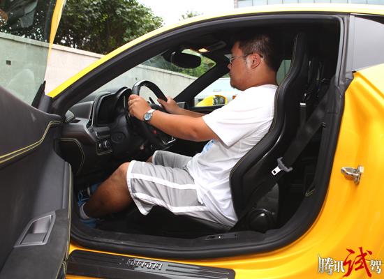 腾讯评测法拉利458 Italia 黄袍加身