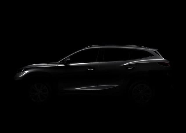 定位高于瑞虎7/9月公布 奇瑞全新SUV预告图