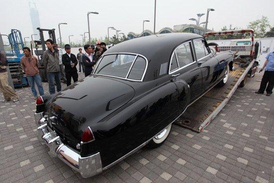 凯迪拉克两款经典老爷车将亮相北京车展