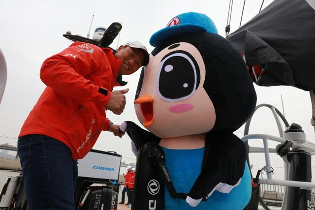 中国东风号停靠母港5天纪实 期待凯旋再回家!