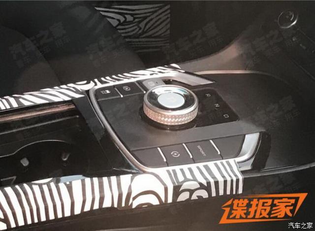 帝豪GS电动版内饰谍照 采用旋钮式换挡