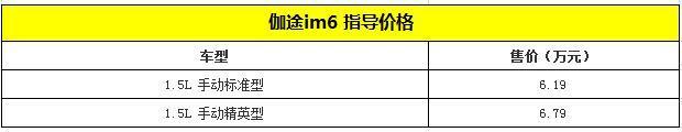 2018款福田伽途系列车型上市 售6.19-7.99万