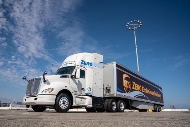 丰田推出全新燃料电池重型卡车 以便在洛杉矶附近运输货物